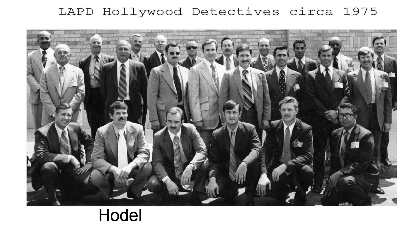 "Hollywood Homicide in the Seventies: The Snake and Bake Murder"" by"